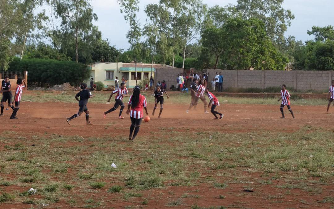 Promoción de la salud a través del deporte en Mozambique