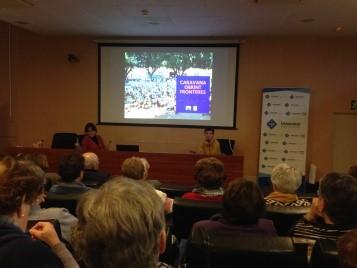 O Fons Menorquí de Cooperació e a Caravana Abriendo Fronteras organizaron un ciclo de conferencias na Universidade Aberta para Maiores.