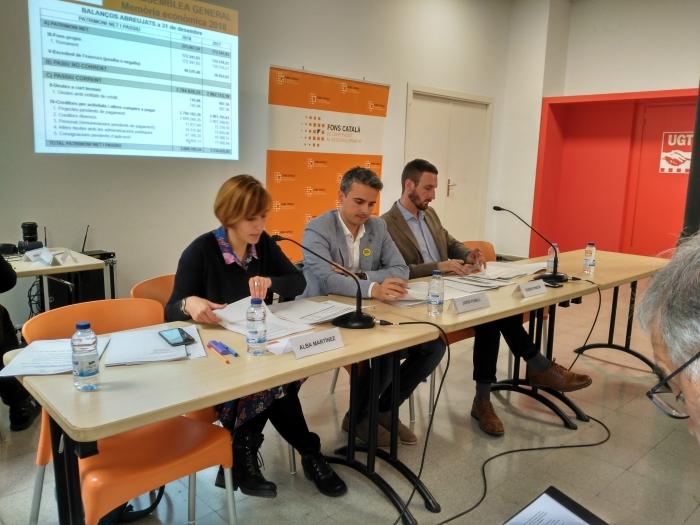 Jordi  Pubill  i  Sauquet,  elegido  nuevo  presidente  del  Fons  Català  de  Cooperació