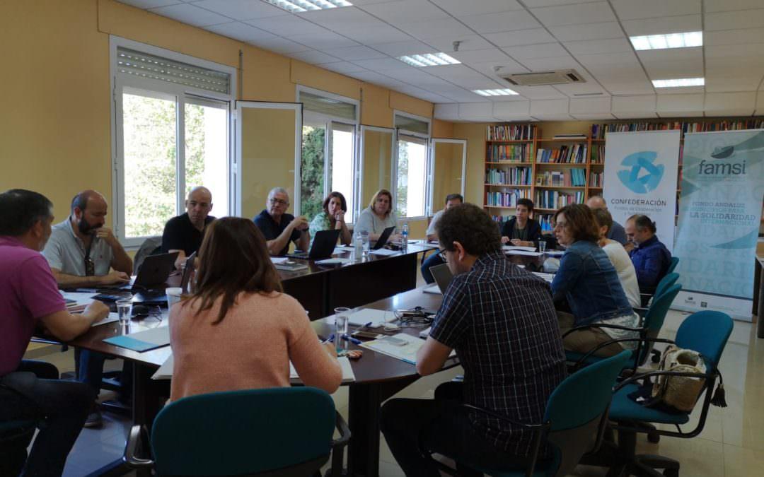 A Confederación de Fondos de Cooperación debate nun encontro técnico as súas liñas estratéxicas
