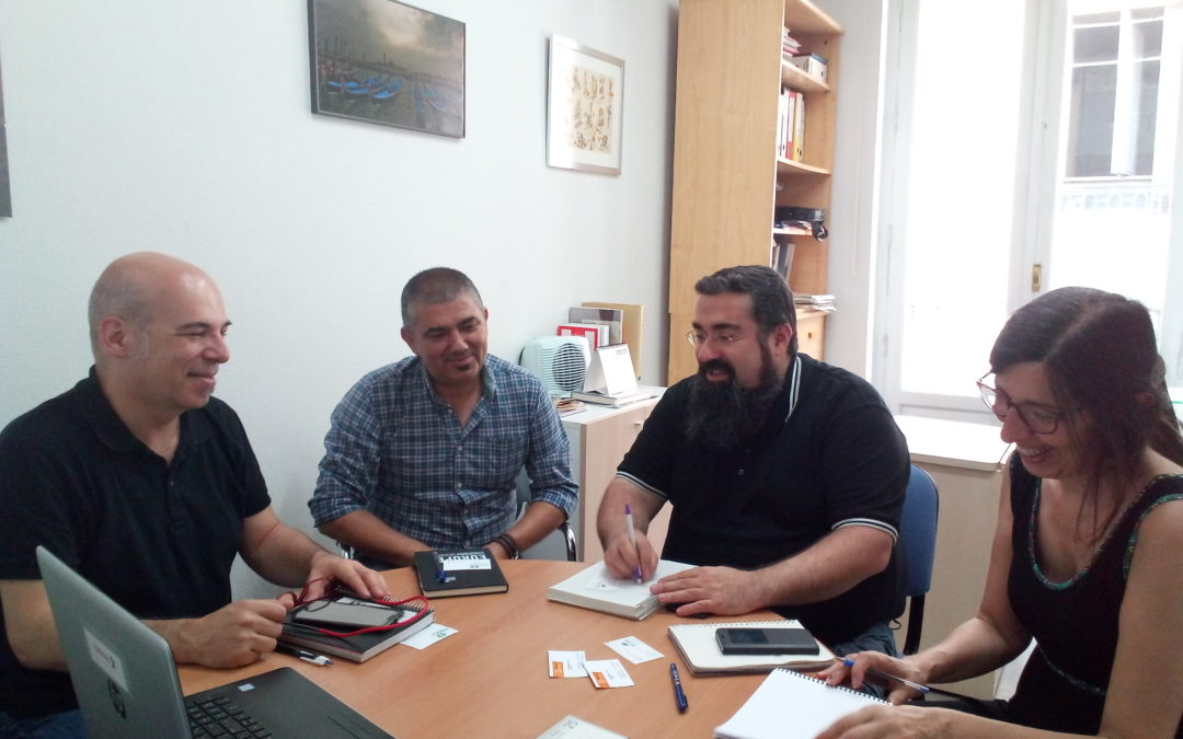 La  Confederación  de  Fondos  de  Cooperación  nos  reunimos  con  representantes  de  la  Coordinadora  Estatal  de  ONGD