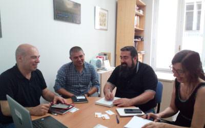 A Confederación de Fondos de Cooperación reunímonos con representantes da Coordinadora Estatal de ONGD
