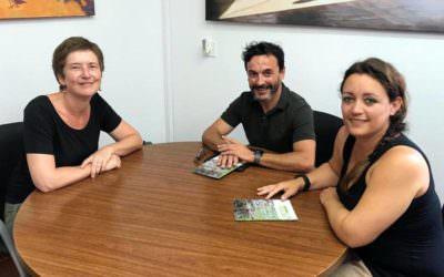 O  Fons  Pitiús reúnese cos novos representantes políticos de  Eivissa e  Formentera