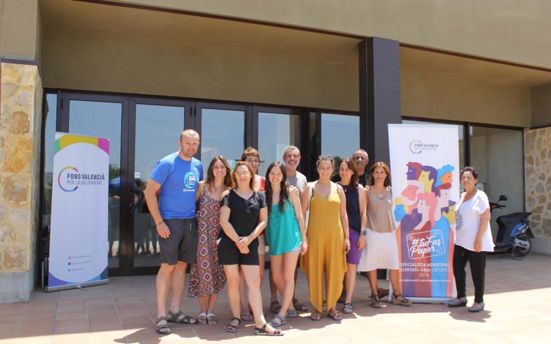 Las personas seleccionadas para el programa Especialista Municipal Voluntario/a del Fons Valencià comienzan sus asistencias técnicas con las jornadas de formación y convivencia