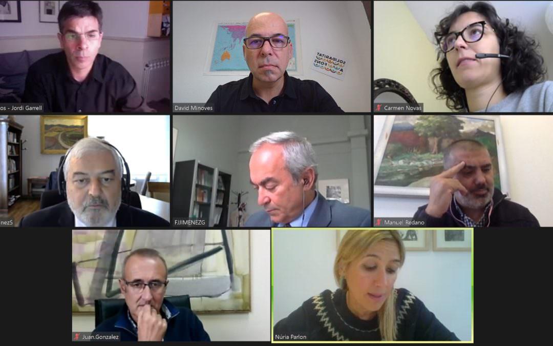 Construir alianzas para favorecer la política publica de cooperación. Reunión con Magdy Solimán nuevo Director de la AECID.