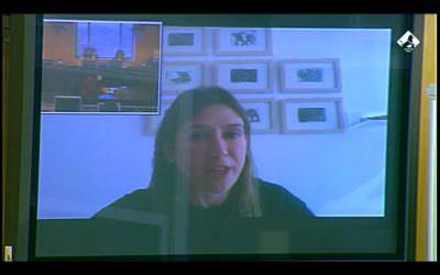 Nuria Parlon Gil, Presidenta de la COFOCOS  Comparece ante la Subcomisión  Cooperación Internacional para el Desarrollo.