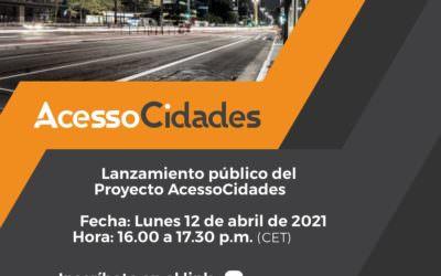 Se lanza el Proyecto AcessCidades –  ciudades más accesibles y conectadas